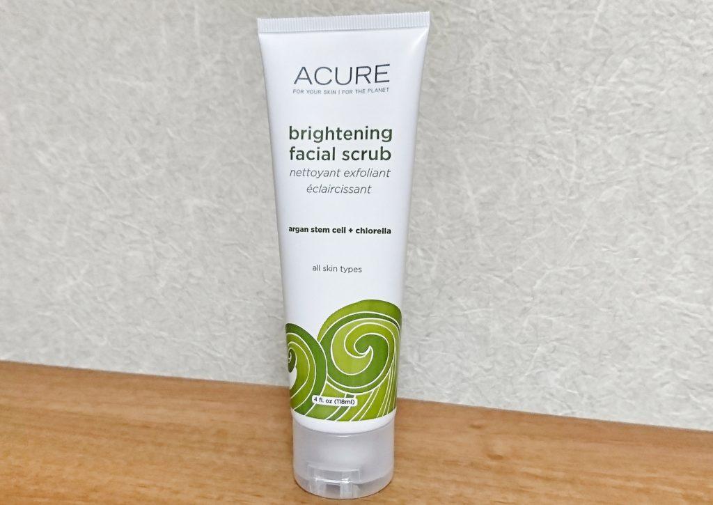 Acure Organics 美白スクラブ洗顔料