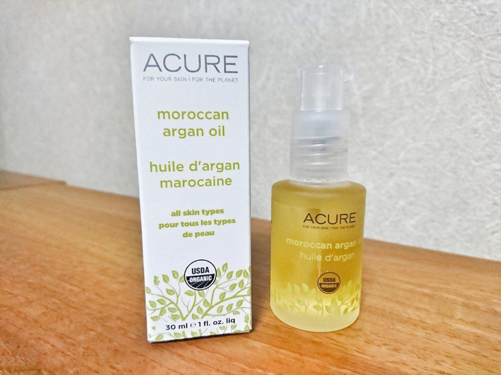 Acure Organics モロッコ原産オーガニックアルガンオイル