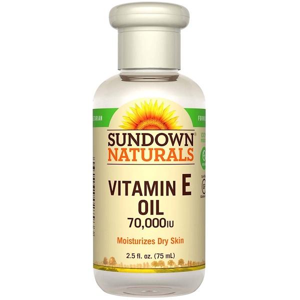Sundown Naturals ビタミンEオイル