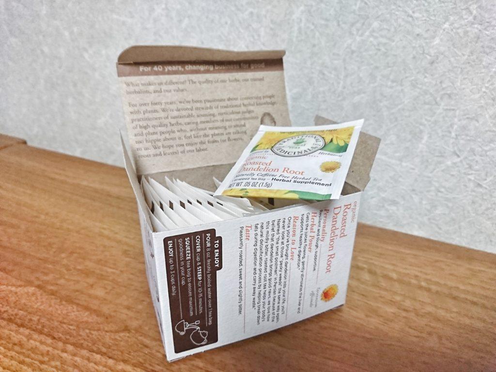 Traditional Medicinalsのたんぽぽ茶