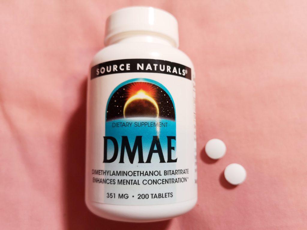 Source NaturalsのDMAE(ジメチルアミノエタノール)