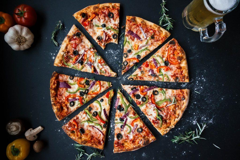炭水化物 ピザ